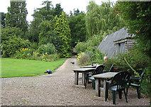 SO5635 : Tea Room at Shipley Gardens by Pauline E