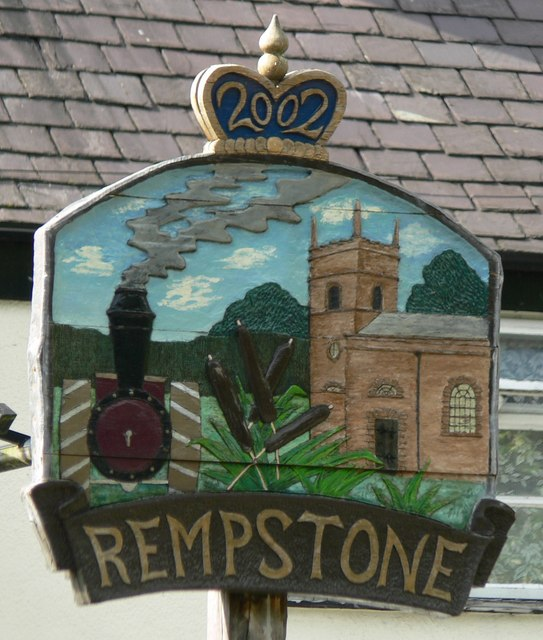 Rempstone village sign