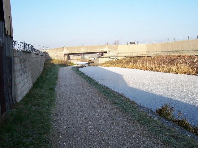 Concrete Bridge - Walsall Canal