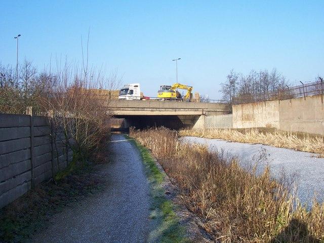 M6 Motorway Bridge - Walsall Canal