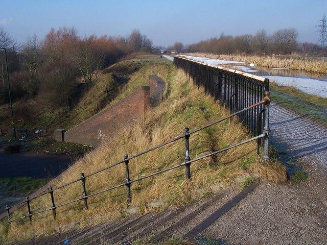 James Bridge Aqueduct - Walsall Canal