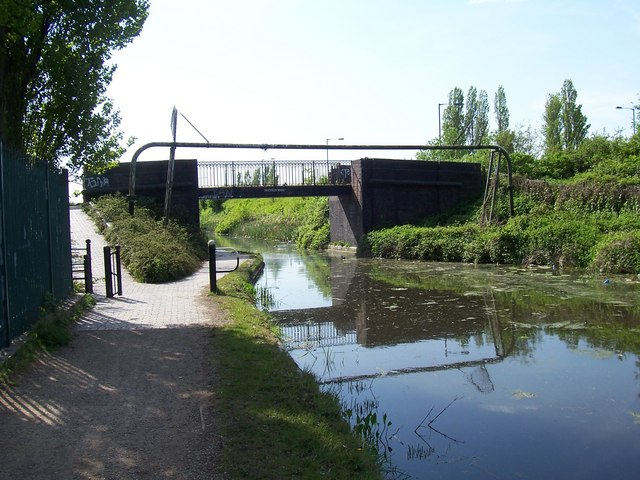 Heathfield Bridge - Walsall Canal