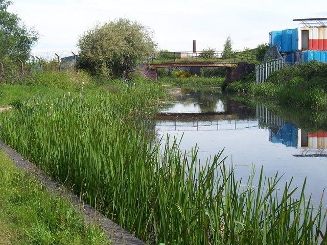 Barnfield Bridge - Daw End Canal
