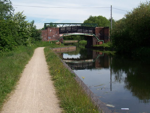 Blackcock Bridge - Daw End Canal