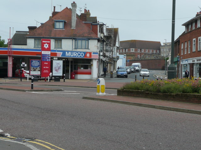 Petrol Station, Town Hall Square, Bexhill on Sea