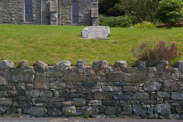 Centenary plaque, St James', Cashel