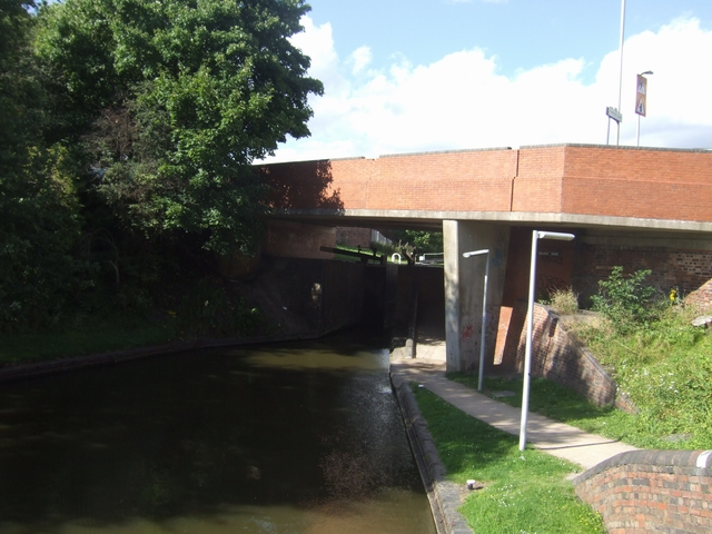 Dudley No 1 Canal - Nine Locks Bridge