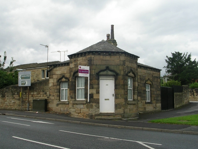 The Toll Bar House - Huddersfield Road by Betty Longbottom