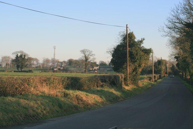 Tee junction near Balheary, Co. Dublin.
