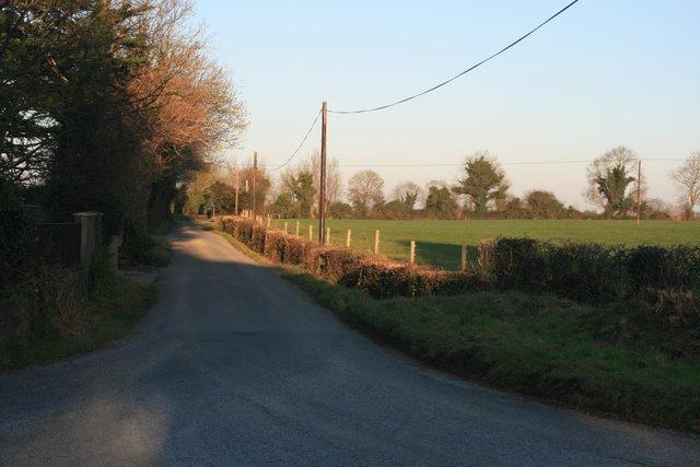 T-junction near Balheary, Co. Dublin.