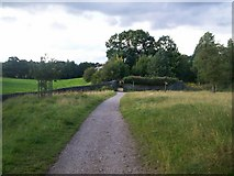 SK2571 : The Cannon Kissing Gate by Jonathan Clitheroe