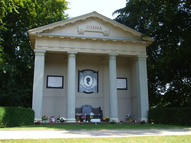 Diana Memorial, Althorp