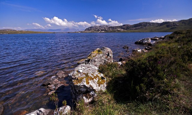 Loch Tollaidh Near Poolewe