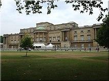 TQ2879 : Rear of Buckingham Palace by Kenneth  Allen