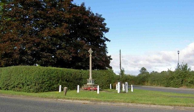 War memorial Carlton in Lindrick