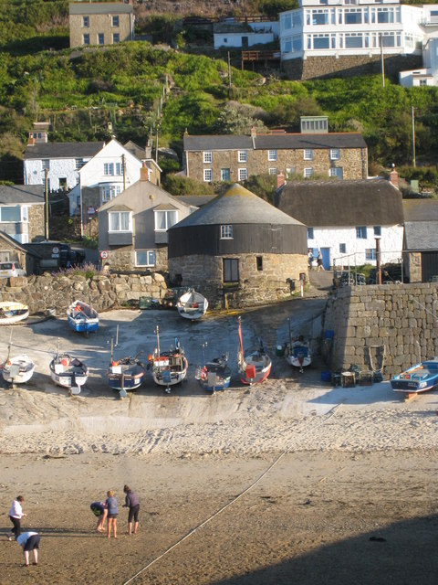 Sennen Cove harbour
