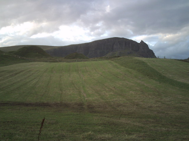 Crofts in Sartle  below Quirang