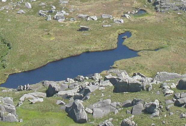 Llyn Ffynnon Llyffant - the highest lake in Wales