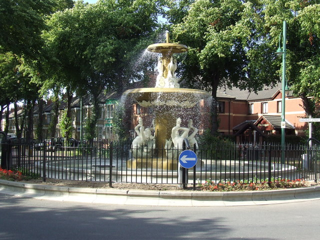 The fountain, Boulevard, Hull.