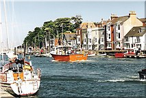 SY6878 : Weymouth Harbour by Sarah Smith