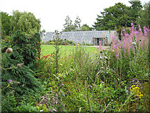 SO5635 : The glasshouse at Shipley Gardens by Pauline E