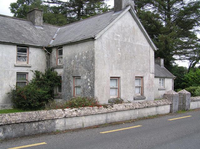 Derelict Cottage in Gubaveenay