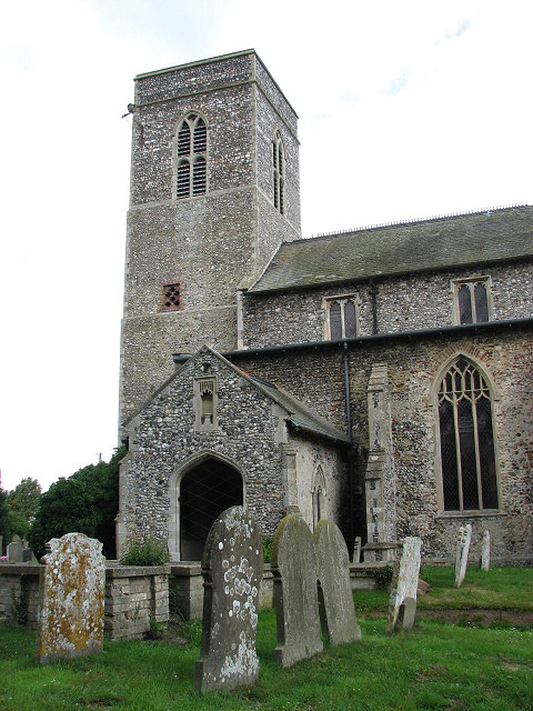 St Margaret's church - porch and tower