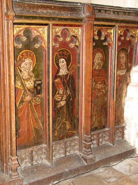 St Margaret's church - rood screen