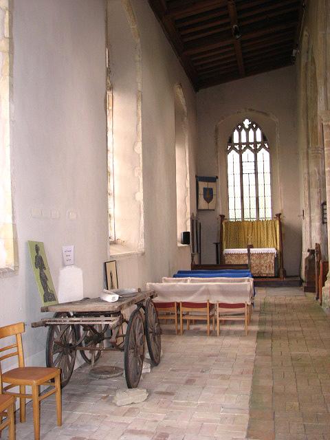 St Margaret's church - north aisle