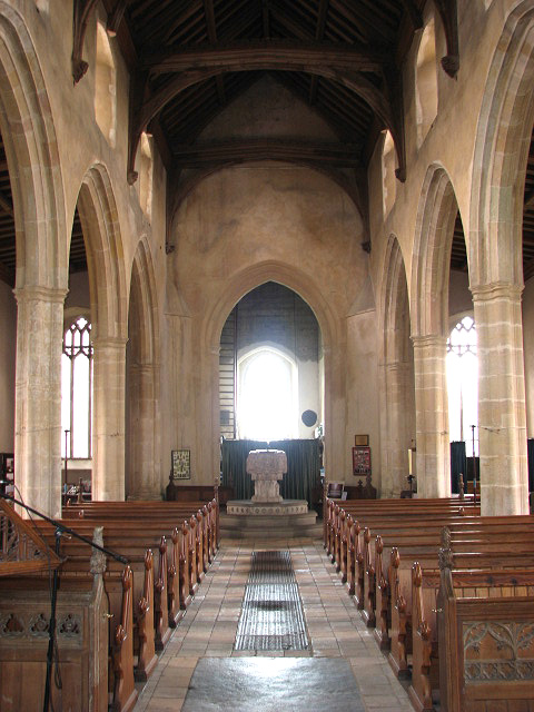 St Margaret's church - view west