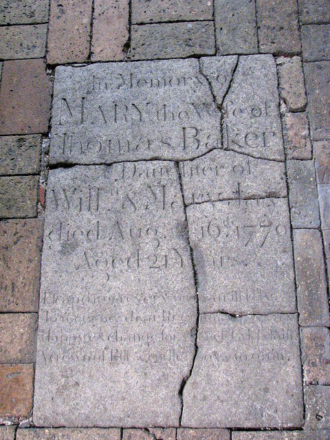 St Margaret's church - C18 ledger slab