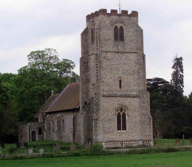 All Saints Church,  West Harling