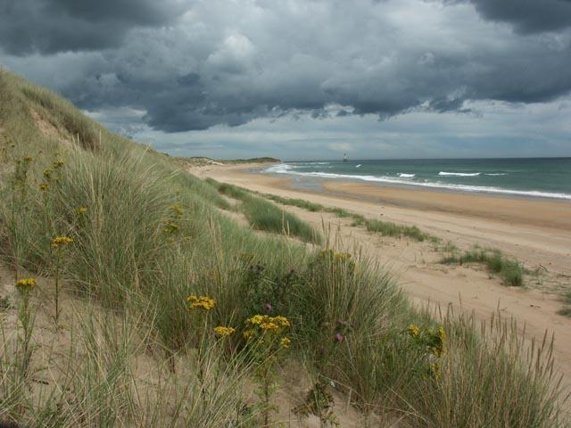 Sand Dunes and Beach near Rattray Head