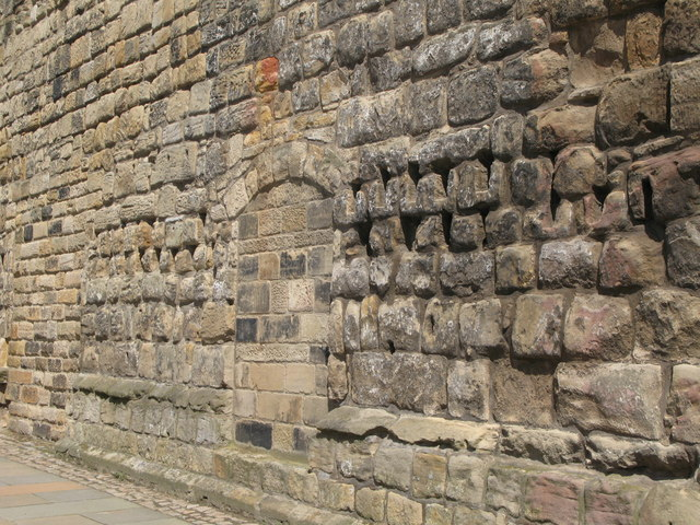 (Part of) the 14th C town walls