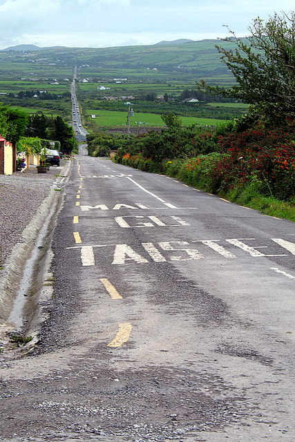 Heading out of Dingle