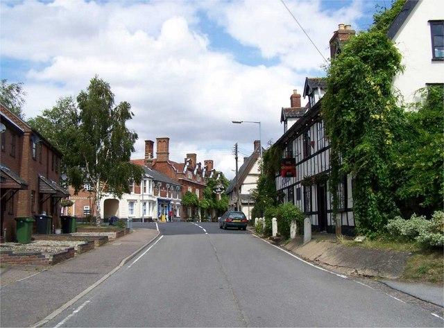The Street, Scole by Geoff Pick