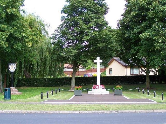 War Memorial & Village Sign, Scole by Geoff Pick