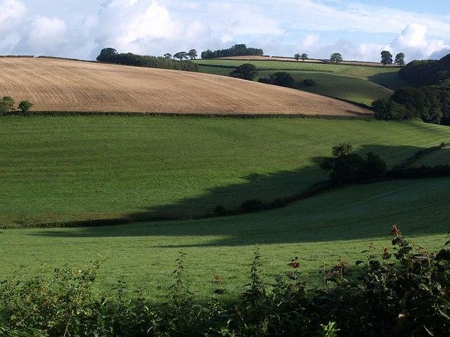 Valley from Glazegate Lane