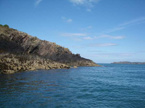 Ramsey Island: north eastern tip (St David's Head in the distance)