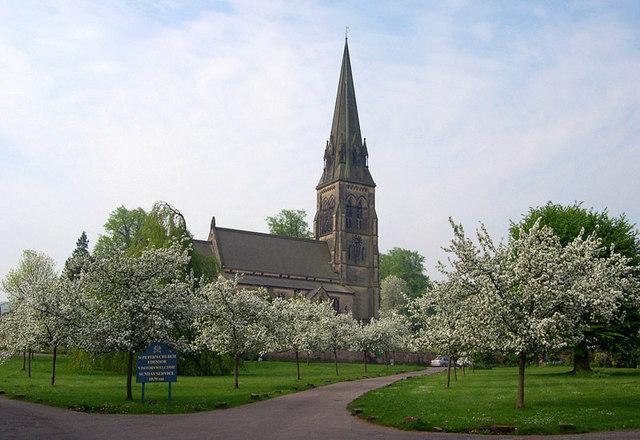 St Peter's Church, Edensor, Chatsworth Estate
