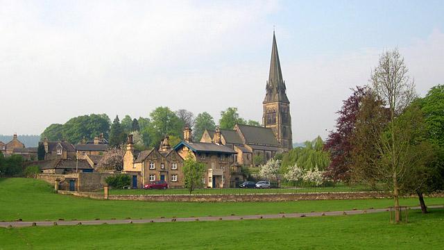 Edensor Village, Chatsworth Estate, Derbyshire