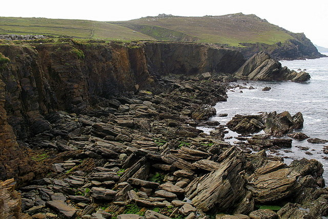 Cliffs at Clogher