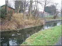 SJ9400 : Wyrley & Essington Canal - Site of Barn Bridge by John M