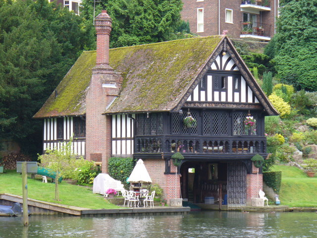 Boathouse, Goring-on-Thames