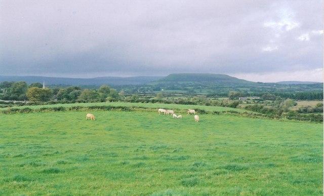 Lowland farming at Toberadur near Achonry, co. Sligo