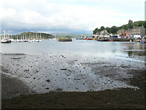 NR8668 : Tarbert: the harbour by Chris Downer
