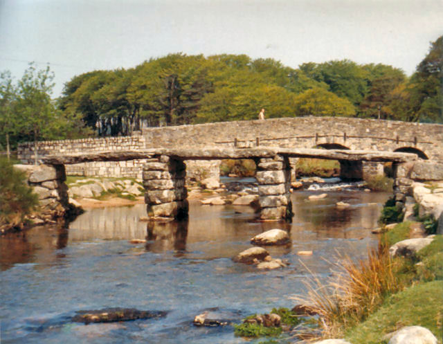 The two bridges at Postbridge