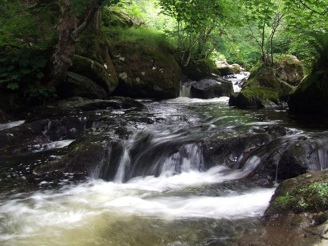 Rapids near Aira Force Waterfall, Ullswater