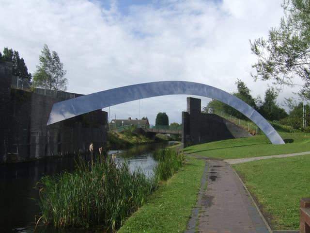 Wyrley & Essington Canal - Demolished Railway Bridge