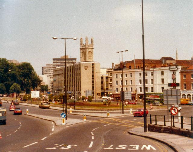 Bristol City Centre, 1982